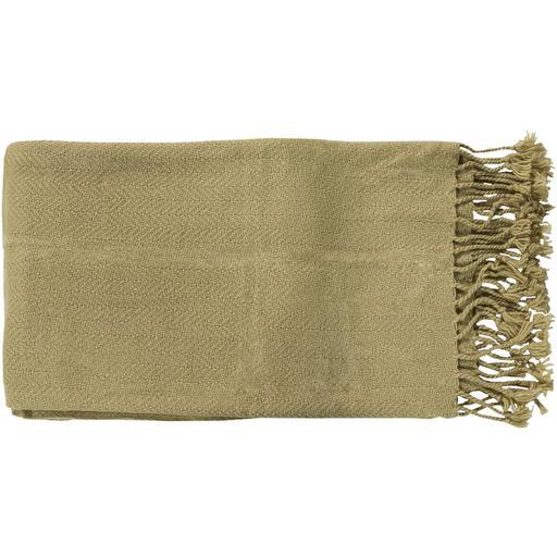"Turner Woven Throw Blanket 50"" x 60"" (Moss)-Throw-Parker Gwen"