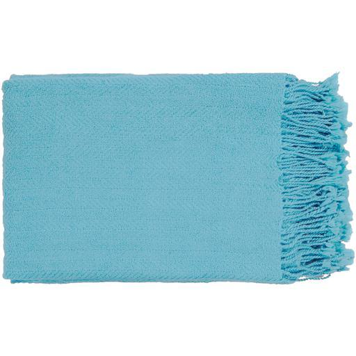 "Turner Woven Throw Blanket 50"" x 60"" (Sky Blue)-Throw-Parker Gwen"