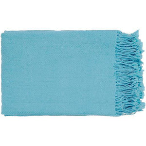 "Turner Woven Throw Blanket 50"" x 60"" (Sky Blue) 