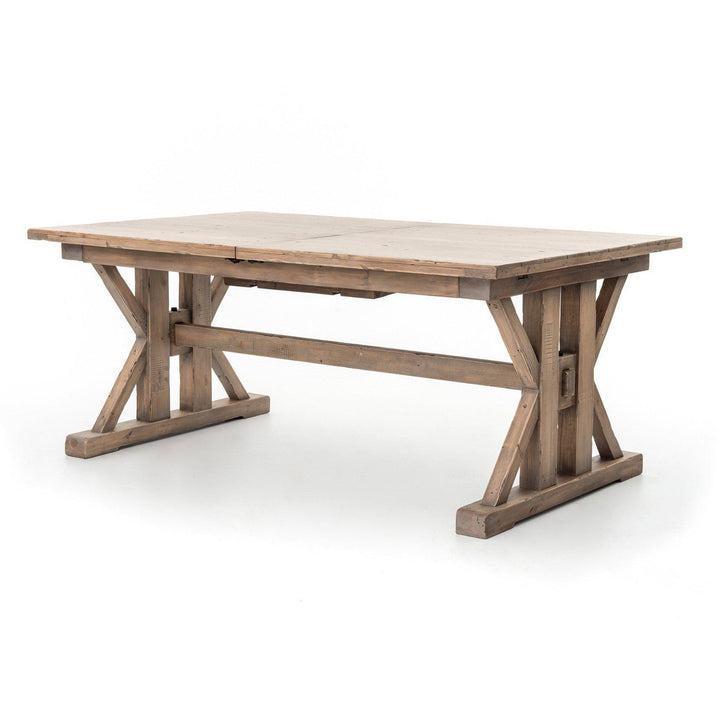 "Tuscan Spring Extendable 72"" to 96"" Dining Table (Sundried Wheat) 
