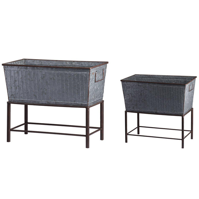 Urban Chic Iron Plant Stand Set-Pot & Planter-Parker Gwen