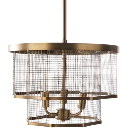 "Vail 10.37""H x 14""W 3-Light Chandelier"