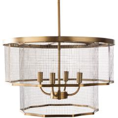 "Vail 13.62""H x 20""W 4-Light Chandelier"