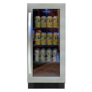 "Vinotemp 15"" Single Zone Beverage Cooler Fridge-Right Hinge 