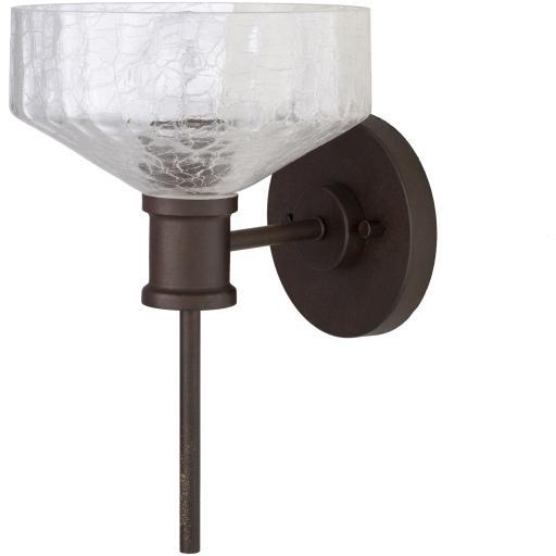 Vincent Clear Painted Glass Wall Sconce | Sconce | parker-gwen