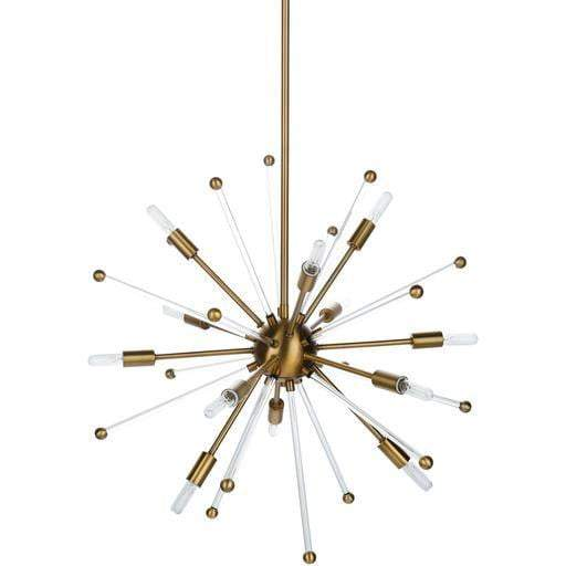 "New Wilding 22.75""H x 25""W 12-Light Chandelier"