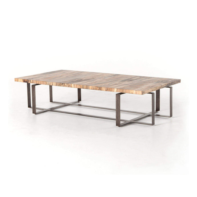 Wesson Collection Brant Coffee Table: Spalted Primavera-Coffee Table-Parker Gwen