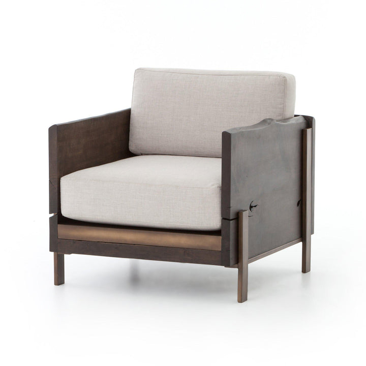 Wesson Collection Woodrow Armchair: Bennett Moon-Accent Chair-Parker Gwen