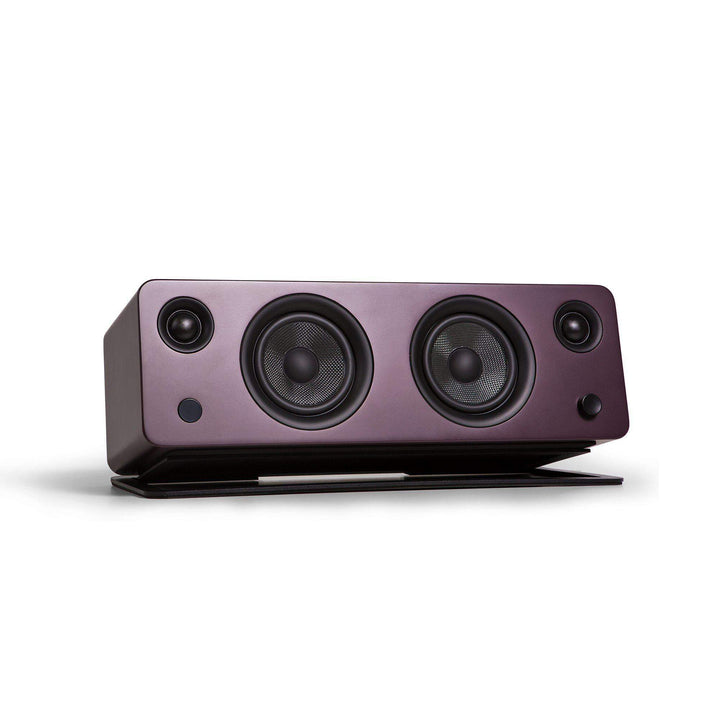 Kanto SYD Powered Speaker with Bluetooth® and Phono Preamp (Matte Burgundy) - Parker Gwen