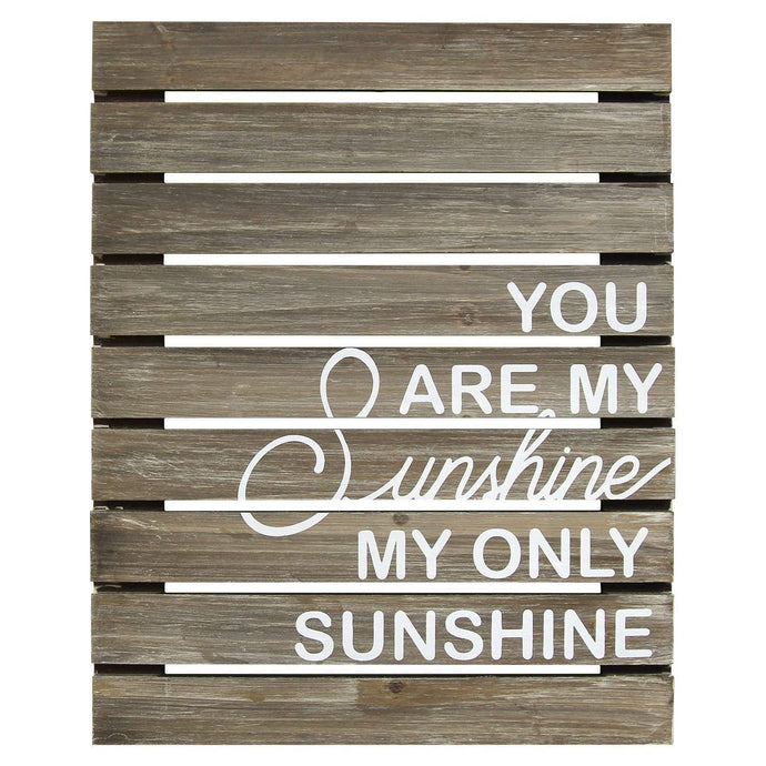 You Are My Sunshine Plank Wood Wall Décor | Wall Accent | parker-gwen