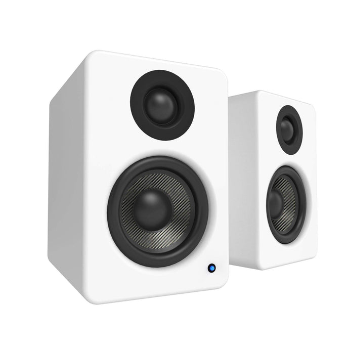 Kanto YU2 Powered Desktop Speakers (Matte White) - Parker Gwen