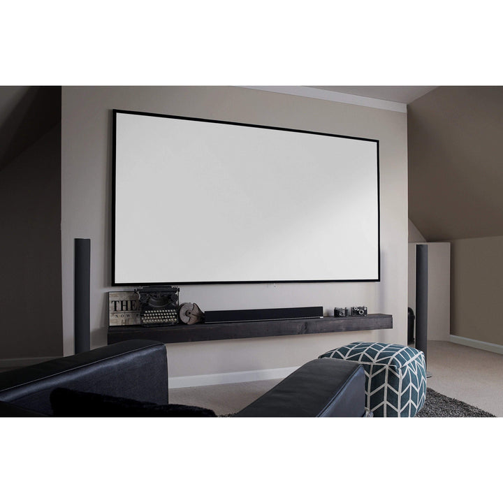 "Elite Screens Aeon EDGE FREE® Fixed Projector Screen (100""-150"" Diagonal Available): CineWhite® - Parker Gwen"
