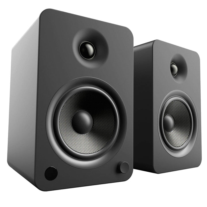 Kanto YU6 Powered Speakers with Bluetooth® and Phono Preamp (Matte Black)