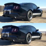 Black Mustang GT, with Stealth Plate. License plate cover by 510 Auto Group