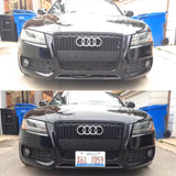 Audi S5 with Retractable License Plates, show and go plates by 510 auto group