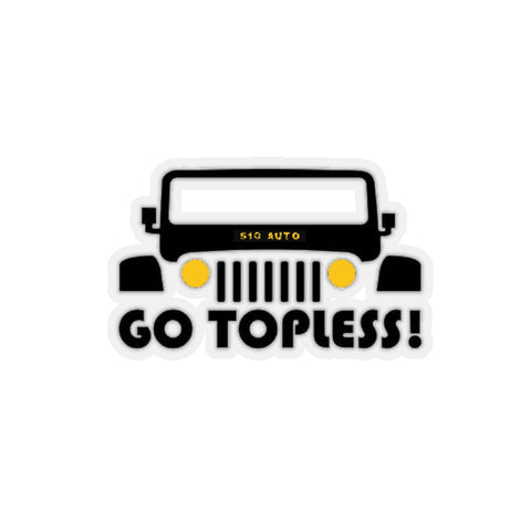 GoTopless! Sticker