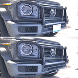 Mercedes G500 with Retractable License Plates, show and go plates by 510 auto group