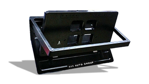 Motorized License Plate Flippers, Stealth Plate Flippers for USA and Canada, by 510 auto group