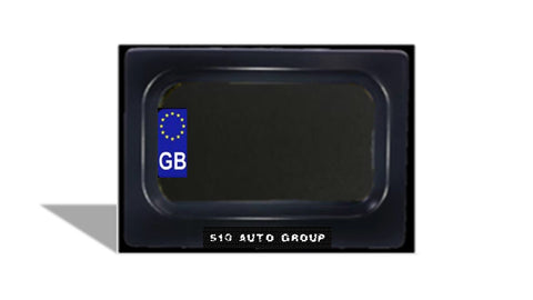 Motorcycle Stealth Plates (Europe)