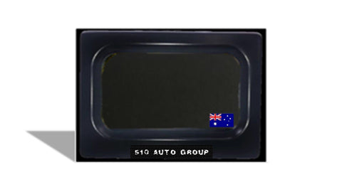 Motorized Motorcycle License Plate hider, Stealth Plates Motorcycle for Australia size