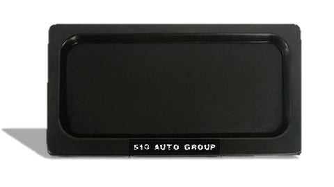 Stealth Plate, license plate covered. For USA and Canada size. 510 Auto Group