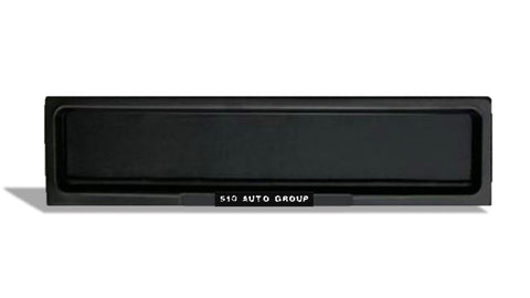 Stealth Plate, license plate covered. For Europe and UK size. 510 Auto Group