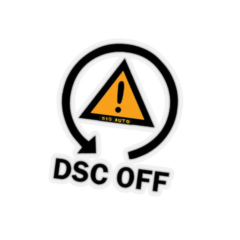 DSC OFF Sticker