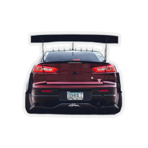 David Ralliart v4 Sticker