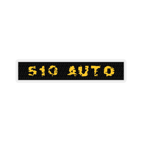 510 Auto Wide Logo Sticker