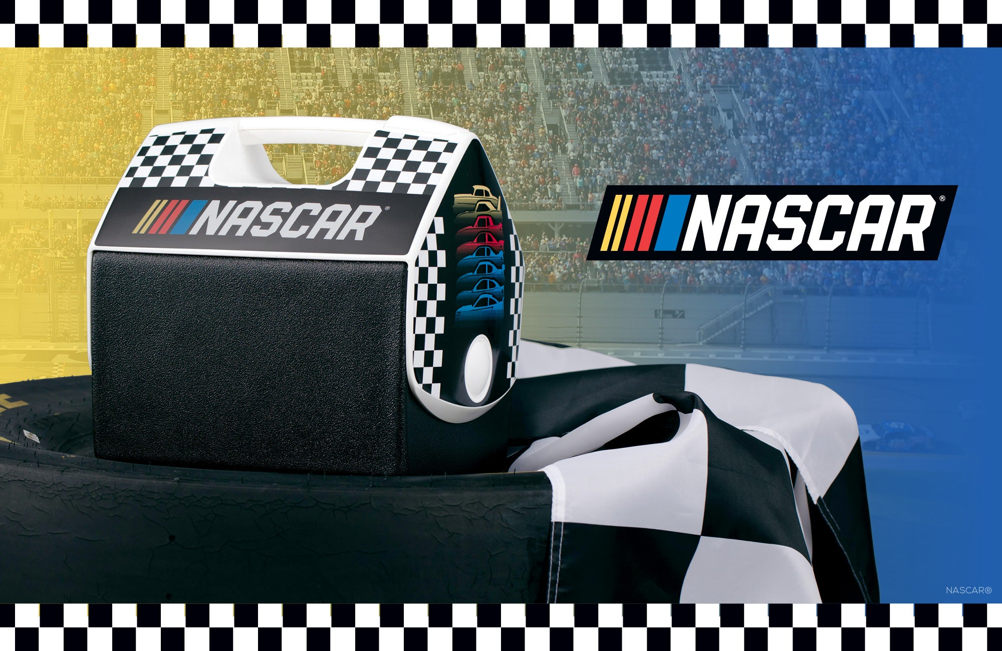 Nascar Playmate Cooler Collection