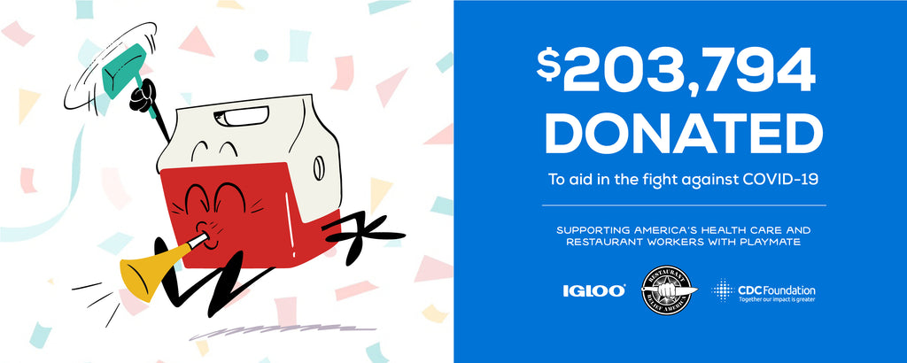 IGLOO DONATES $203,794 IN THE FIGHT AGAINST COVID-19