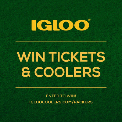 Igloo x Packers Tickets Sweepstakes