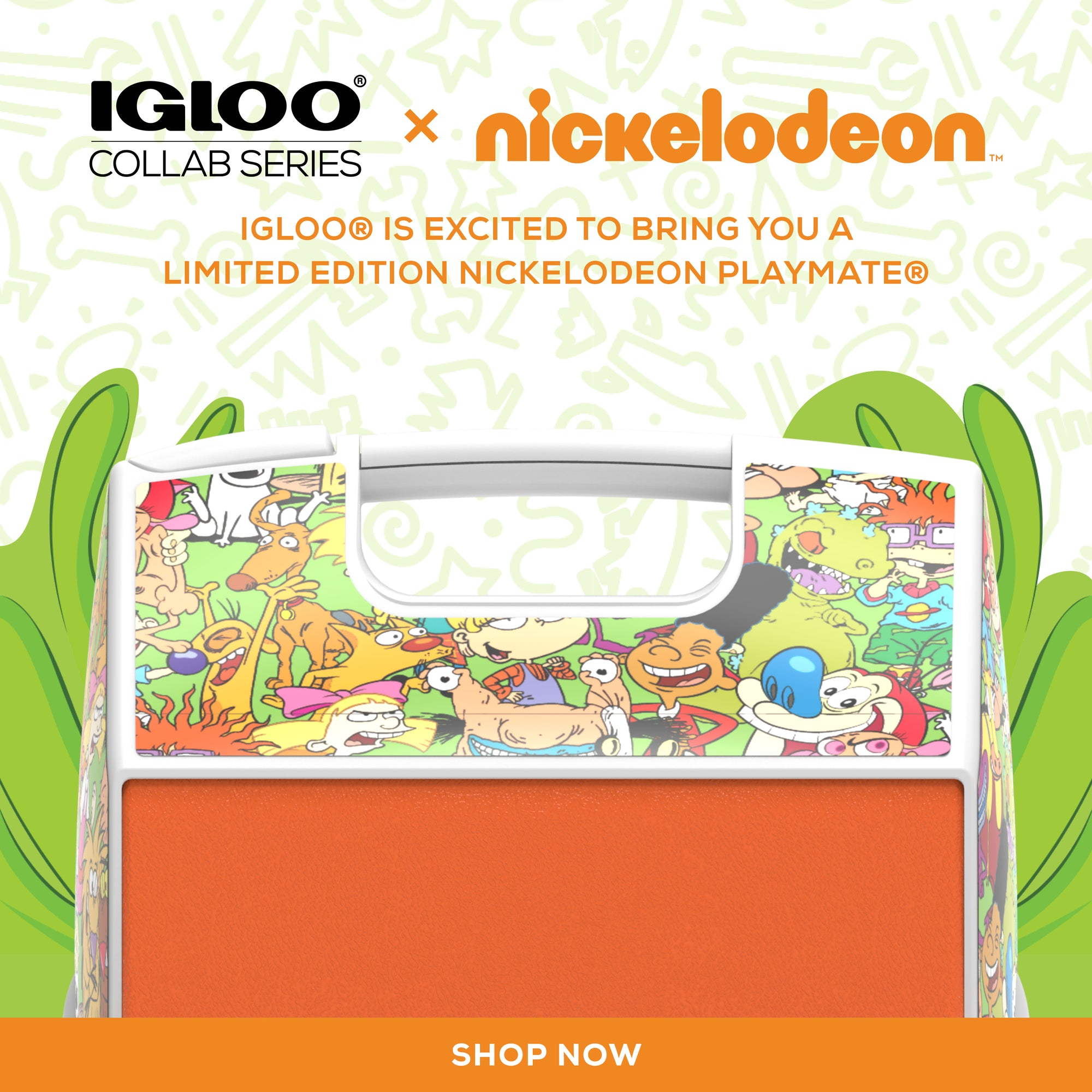 Nickelodeon Playmate Cooler