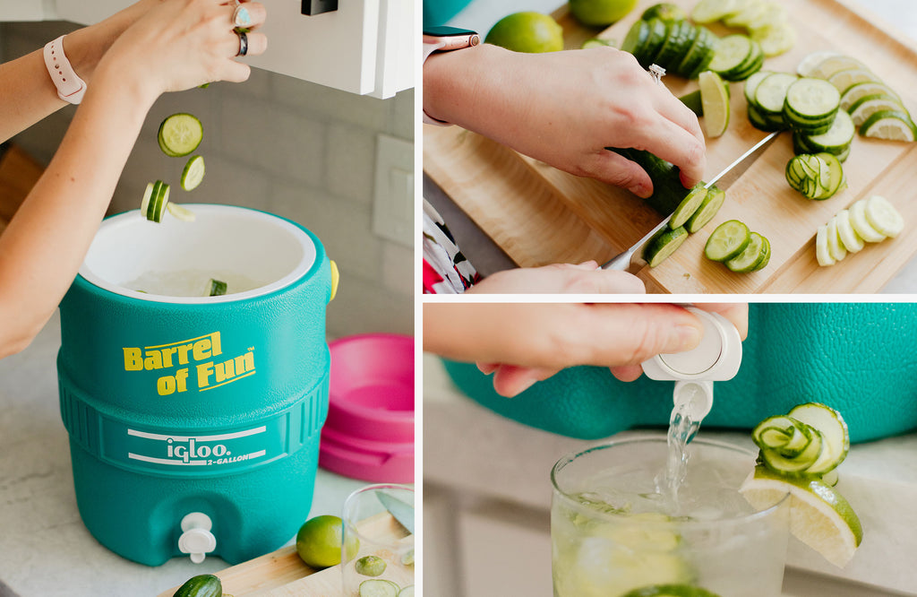 Chilly Cucumber Spritzer (Non-Alcoholic)