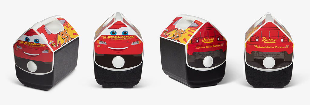 Disney and Pixar Lightning McQueen Playmate Cooler