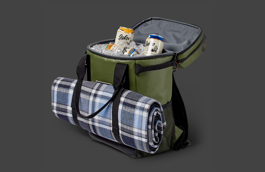 Pursuit Backpack Cooler with Yoga Mat