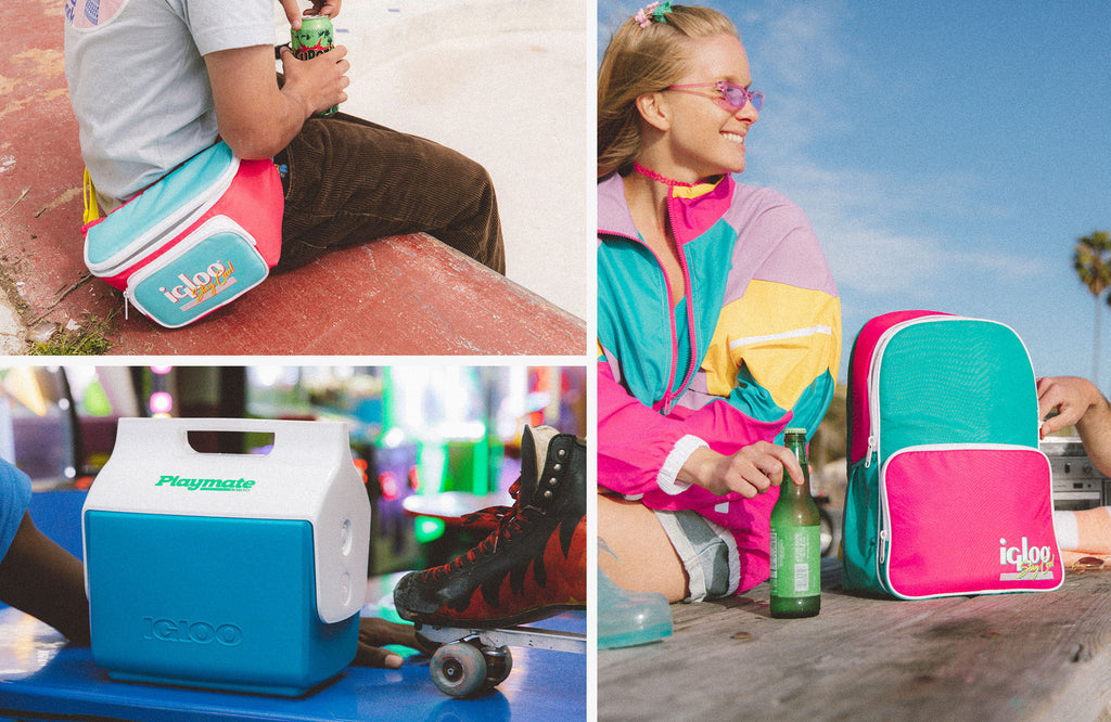 Retro Collection New Colors Watermelon and Blue