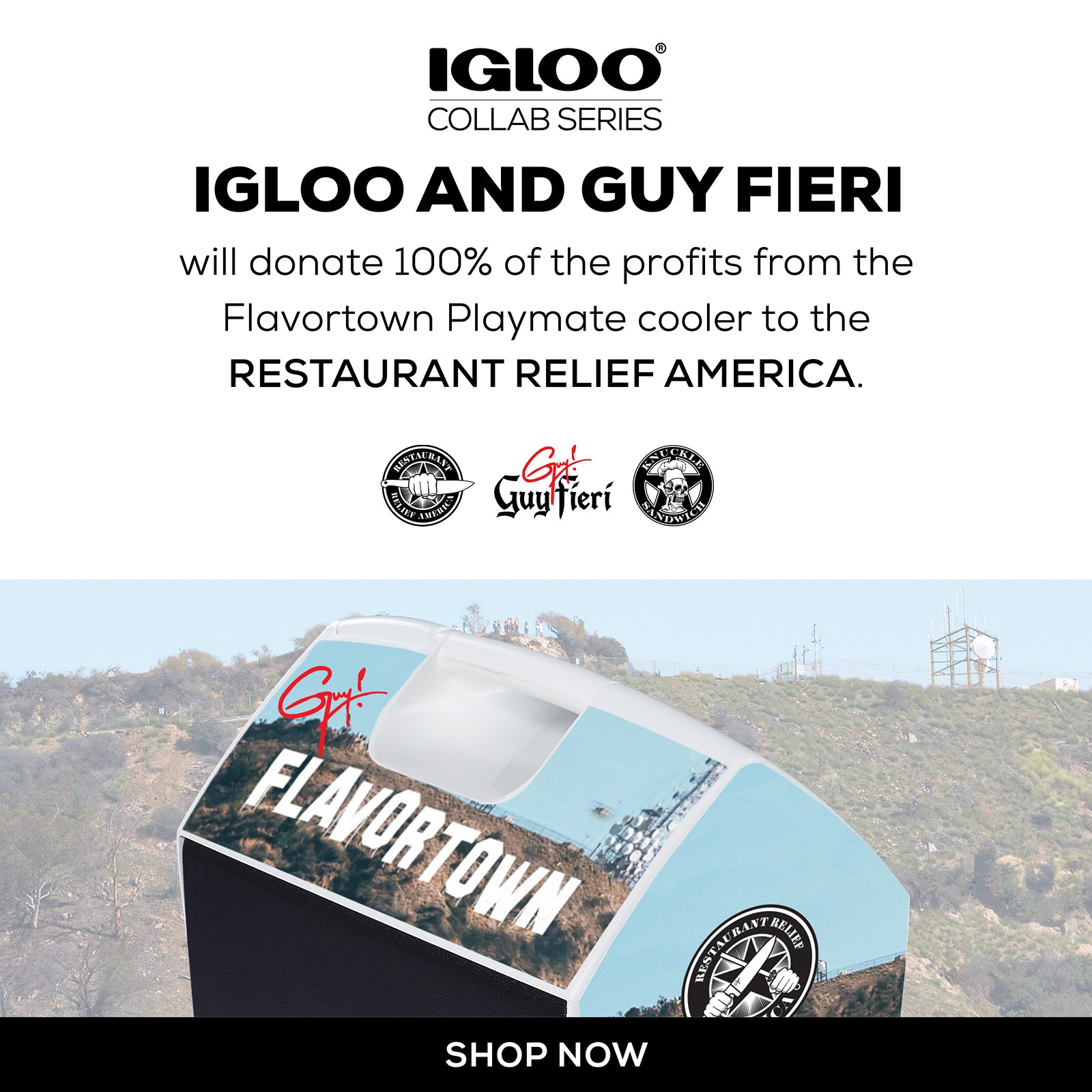 Igloo & Guy Fieri