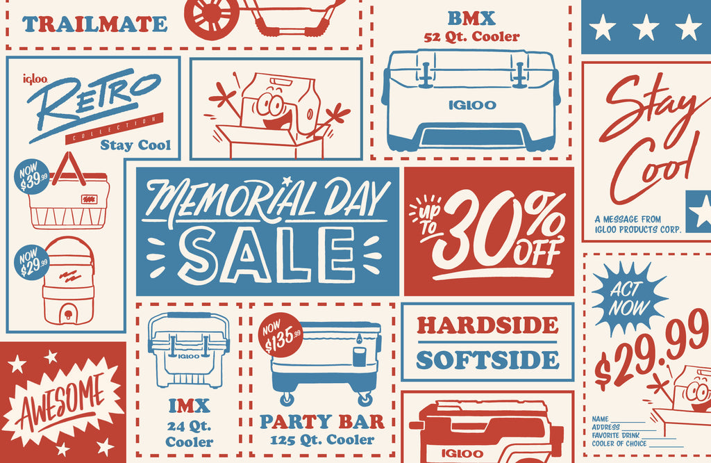 Igloo Memorial Day Sale - Up to 30% off