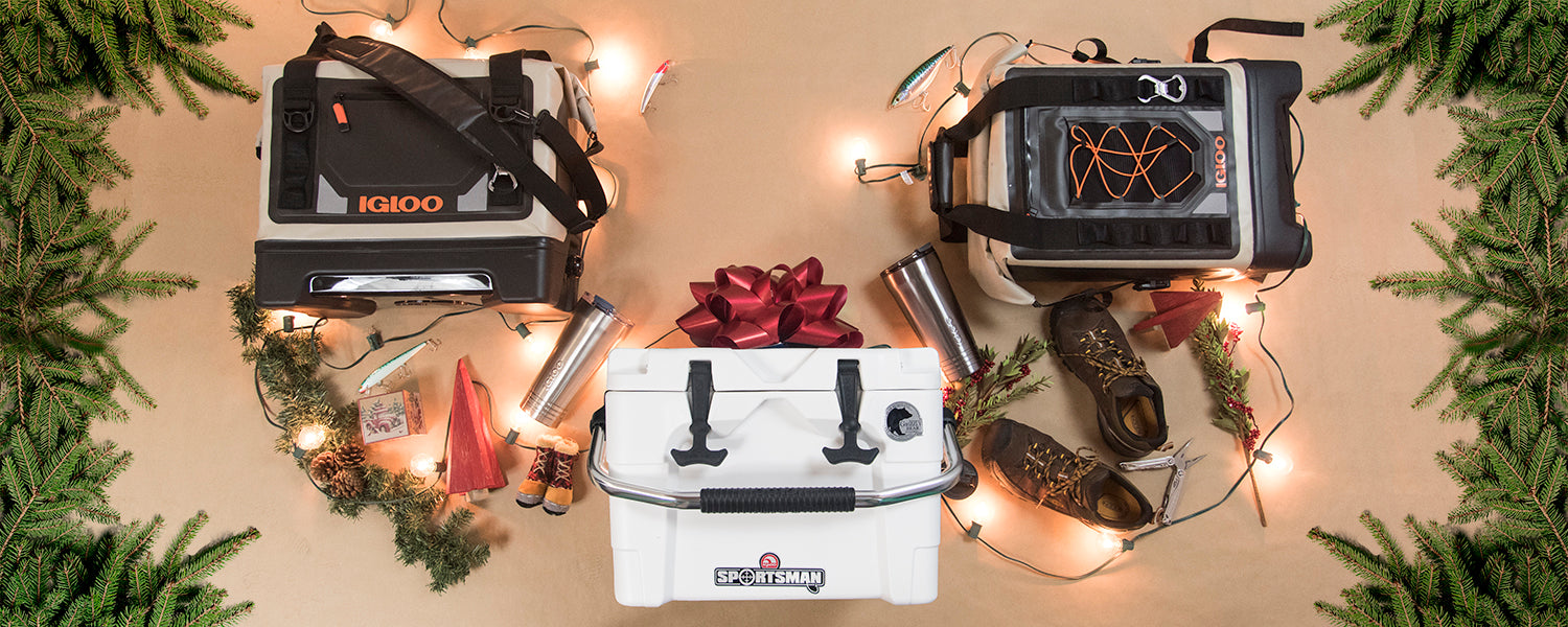 Igloo Holiday Gift Guide - For the Guys Who Love the Great Outdoors
