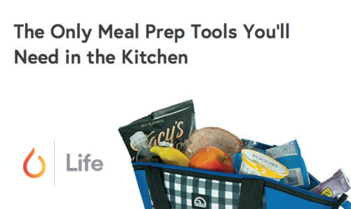 The Only Meal Prep Tools You'll Need in the Kitchen by Life