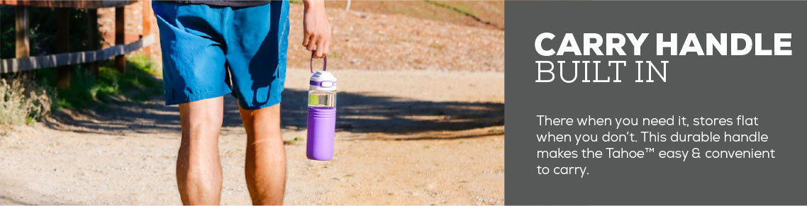 Tahoe Water Bottle With Carry Handle