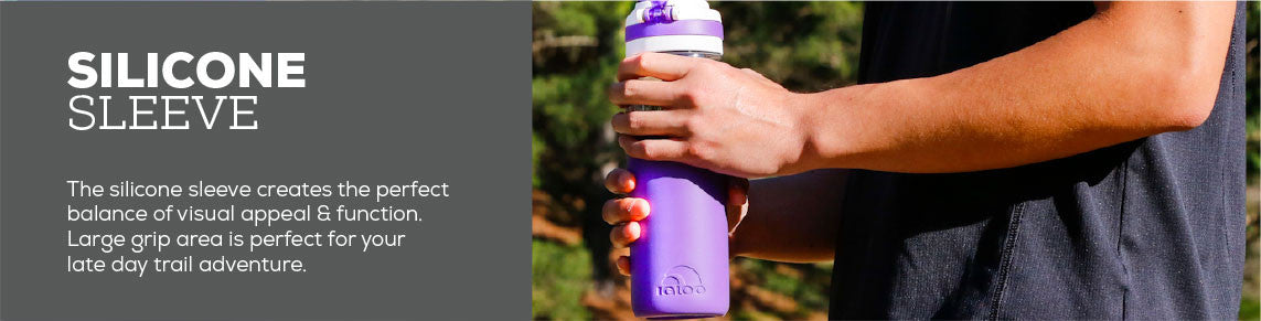 Tahoe Water With Bottle Silicone Sleeve