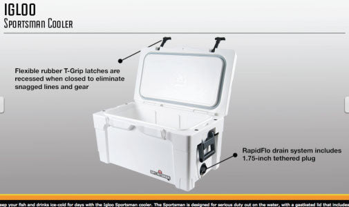 Igloo Sportsman Cooler by FIshTrack