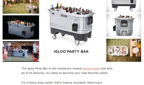 Igloo Party Bar by HiConsumption