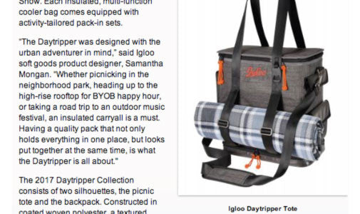 Igloo Brings Daytripper Cooler Bags to Chicago