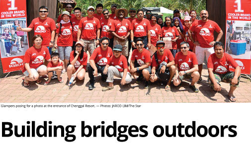 Building Bridges Outdoors