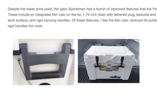Igloo Sportsman 40 Cooler Review by Utah Outside