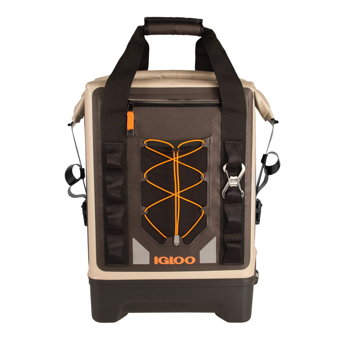 Large View | Sportsman Backpack Welded Cooler in Tan at Igloo Cooler Backpacks