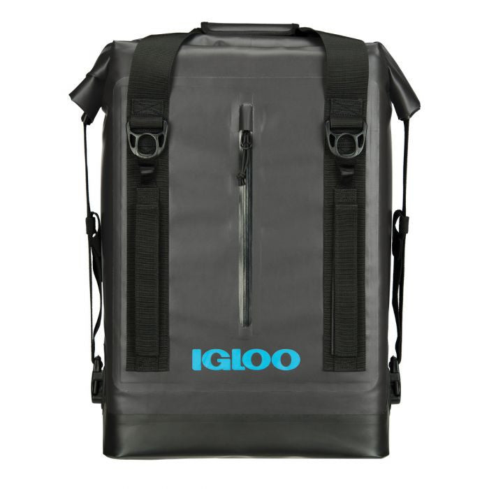 Large View | Wade Backpack Welded Cooler in Gray at Igloo Cooler Bags